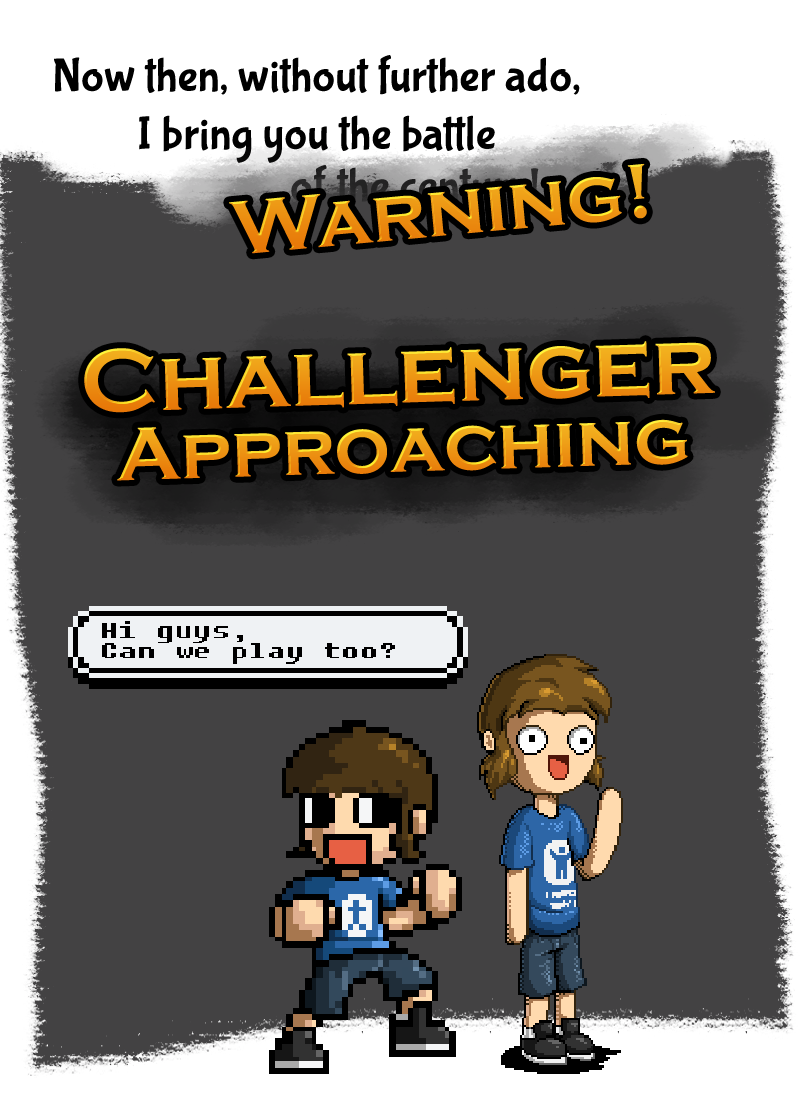 Challenger approaching: Pixel Art!