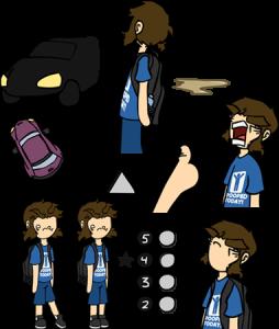 Webcomic coloring